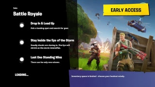 Back up account (Fortnite Battle Royal) solos/duos