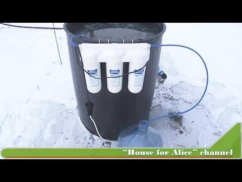 Лайфхак  для дачи Фильтр и насос для воды с высоким содержанием железа