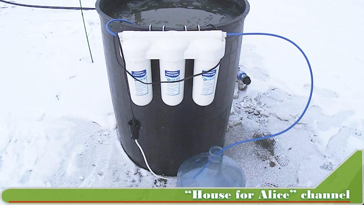 Очистка воды от железа из колодца для дачи своими руками фото 309
