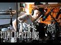 Capture de la vidéo Away With Words Studio Documentary // Episode 1: Drums