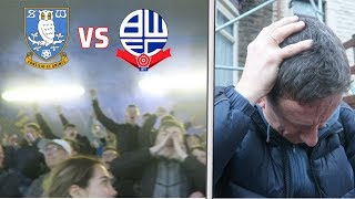 SHEFFIELD WEDNESDAY vs BOLTON *VLOG* - DAD THROWN DOWN BY POLICE + LAST MINUTE EQUALISER!