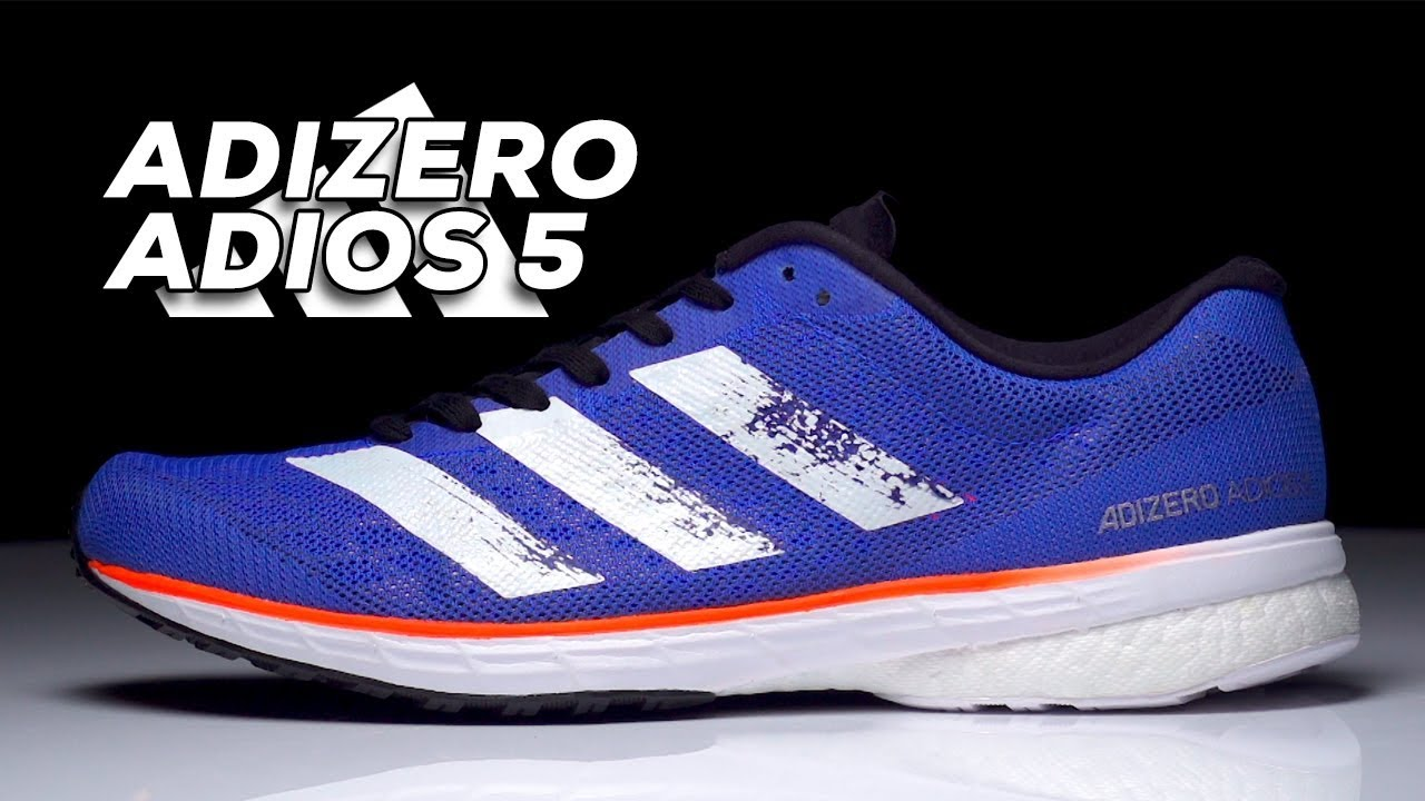 compromiso Referéndum borde  adidas adizero adios 5 | A Modern Take On A Classic Racer - YouTube