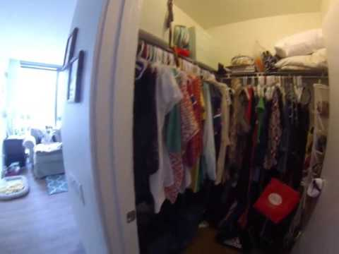 Lakeshore East Chicago Apartments   Coast   Convertible Furnished   06 Layout   GoPro Tour