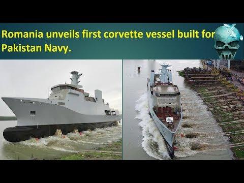 first corvette vessel built for Pakistan Navy.