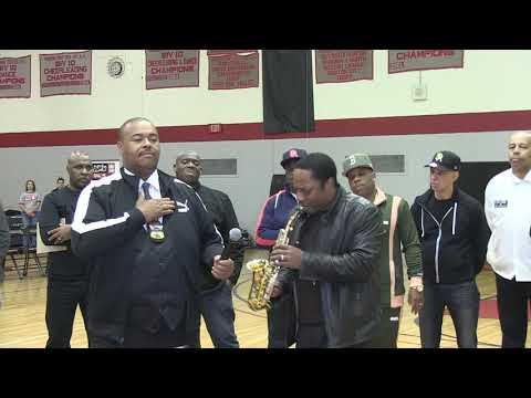 National Anthem -  Andre Ward - MADISON PARK HIGH SCHOOL, BOSTON