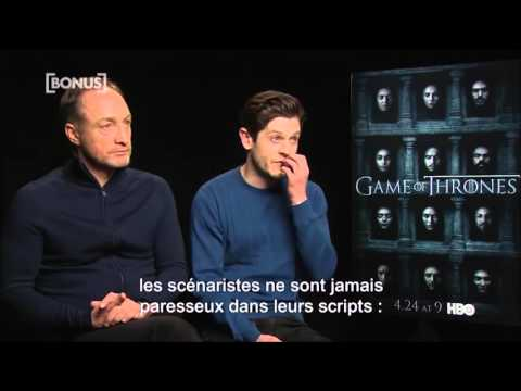 Iwan Rheon & Michael McElhatton about The Boltons Developement in Season 6 VOSTFR