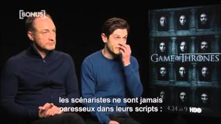 iwan rheon michael mcelhatton about the boltons developement in season 6 vostfr