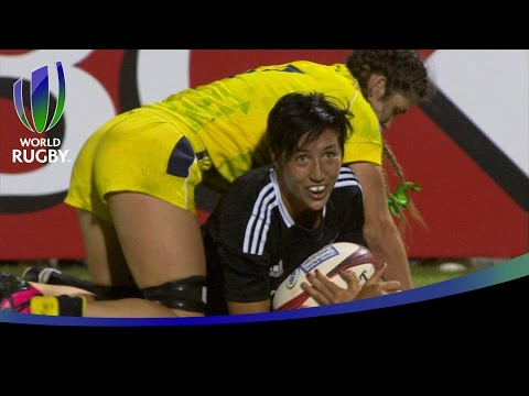 Seven of the best tries from the women's sevens series in Dubai