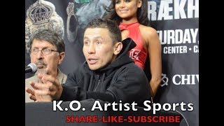 GGG ACTUALLY THINKS CANELO IS SCARED! LISTEN CAREFULLY!