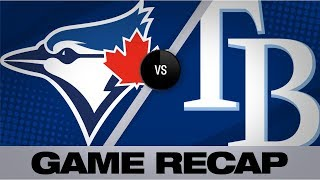 Bichette, Waguespack lead Blue Jays to win   Blue Jays-Rays Game Highlights 8/5/19