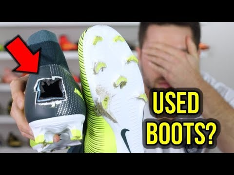 BUYING USED FOOTBALL BOOTS A BAD IDEA