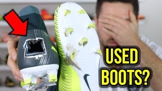 IS BUYING USED FOOTBALL BOOTS A BAD IDEA?