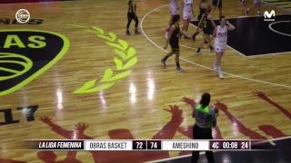 Liga Femenina - Obras Basket vs Ameghino (Partido 2)