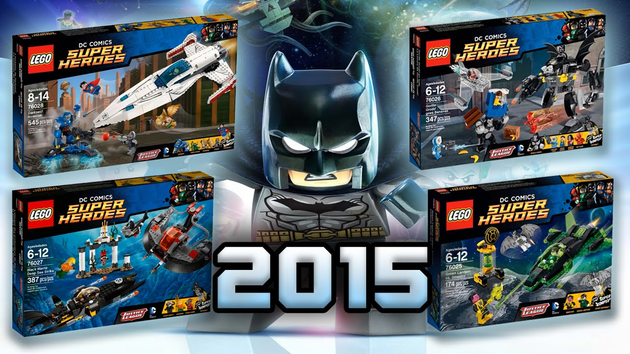 LEGO DC : 2015 Justice League Sets - FULL ANALYSIS - YouTube