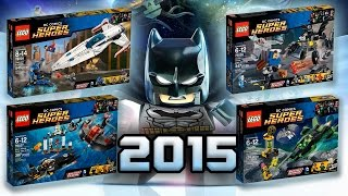 LEGO DC : 2015 Justice League Sets - FULL ANALYSIS