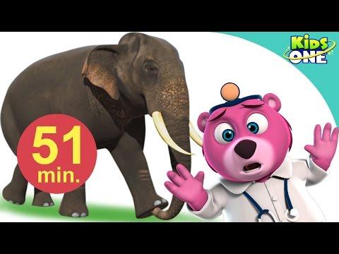 हाथी मेरा साथी आया  Hathi Mera Sathi Aaya  Hindi Children Rhymes  KidsOneHindi