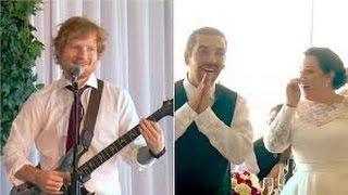 Ed Sheeran Surprises Deserving Wedding Couple HD