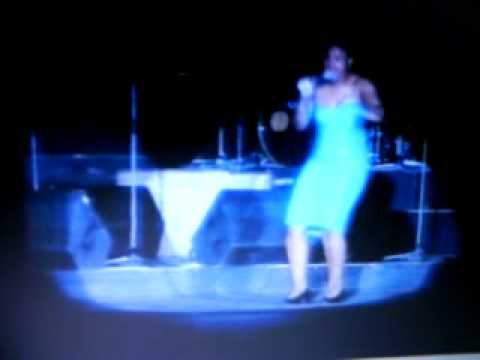 Cecile singing live in seychelles