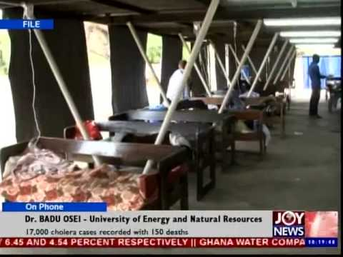 Cholera outbreak in Ghana - News Desk (1-10-14)