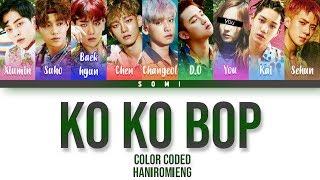 EXO(엑소) + You (9 Members) Sing 'Ko Ko Bop' [Color Coded Han|Rom|Eng]