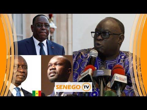 Dernière minute : Me El Hadji Diouf rejoint Macky Sall !