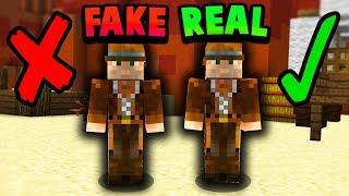 FAKE NPC TROLL! (Minecraft Murder Mystery Trolling)