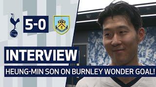 INTERVIEW   HEUNG-MIN SON ON BURNLEY WONDER GOAL!   Spurs 5-0 Burnley