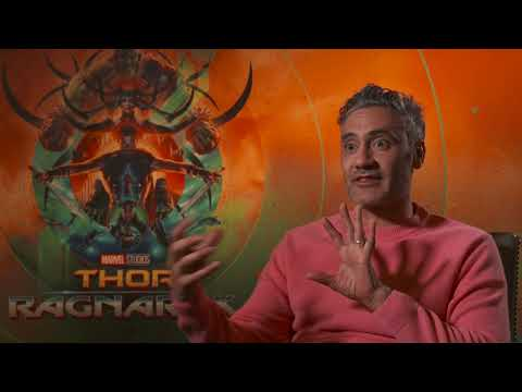 Hilarious THOR RAGNAROK  with director Taika Waititi at the Irish Premiere