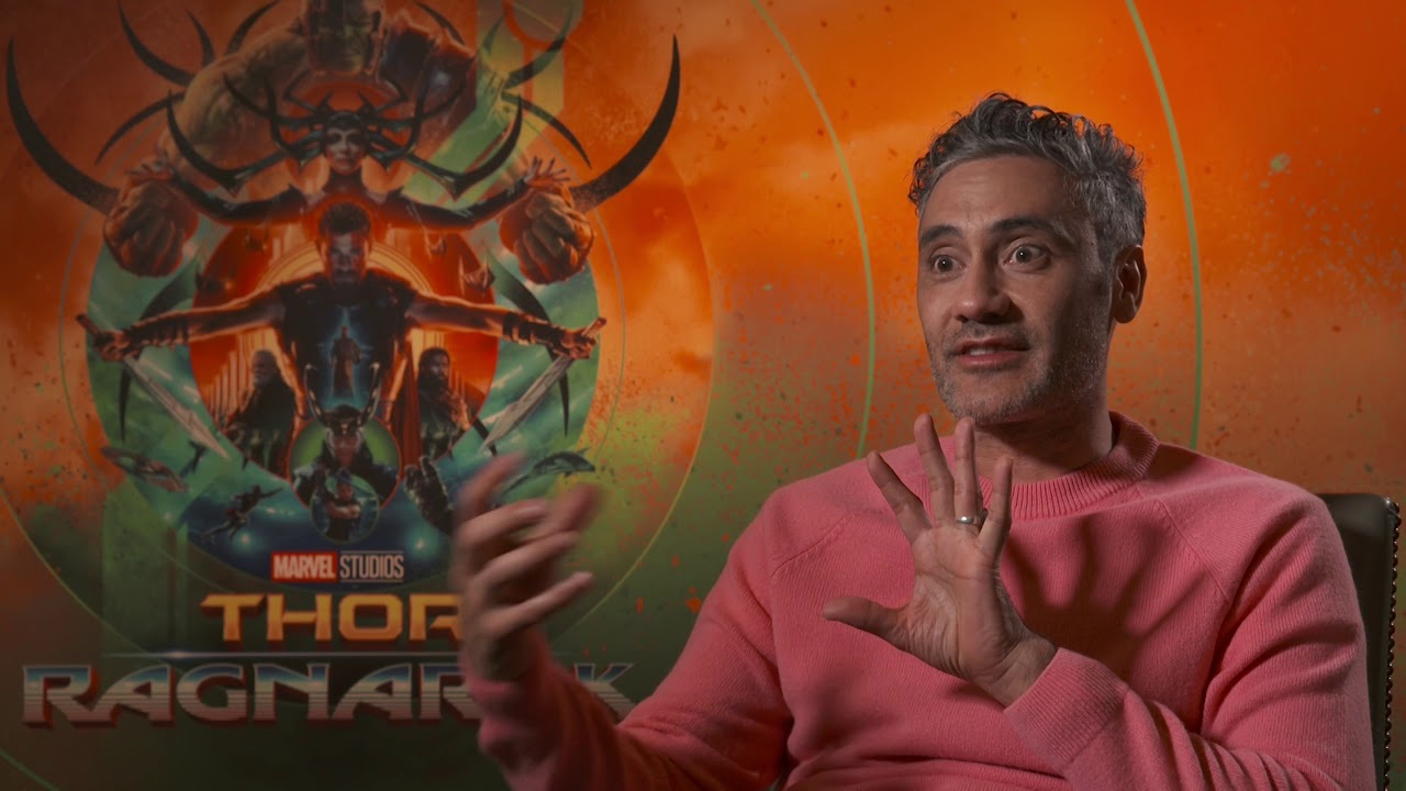 Hilarious THOR RAGNAROK Interview with director Ta