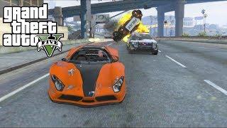 Grand Theft Auto V (Xbox 360) Free Roam Gameplay #13 [1080p]