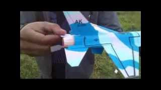 F-16 Paper Glider (Paper Aircraft)