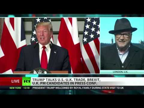 """Galloway: """"Nigel Farage Is A Big Player, Trump Would Be A Fool To Avoid Him"""""""