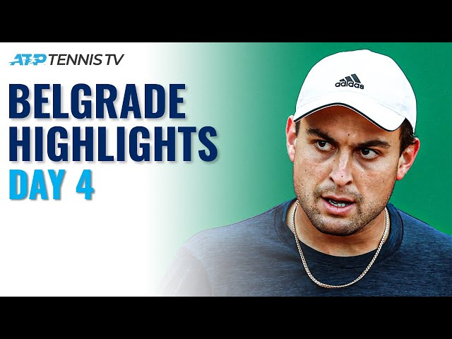 Karatsev Faces Bedene; Delbonis, Mager & Millman All Feature | Serbia Open 2021 Highlights Day 4