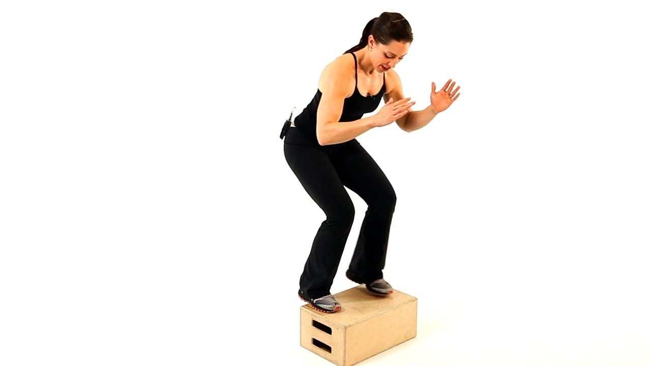 How To Do A Box Jump Boot Camp Workout Youtube
