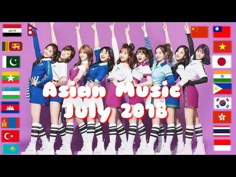 ASIAN MUSIC IN JULY 2018 | 7/2018 ✔ 7⃣6⃣