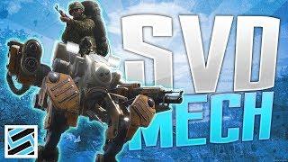 SVD vs MECH - How Many Bullets? - SCUM
