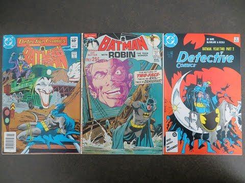 NEW Comic Book Haul (Free Books I Got & BATMAN!!)