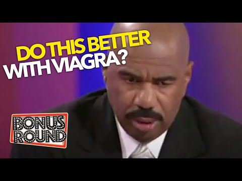 MEN DO THIS BETTER WITH VIAGRA! WOW Some Of These Answers! Steve Harvey Family Feudd USA