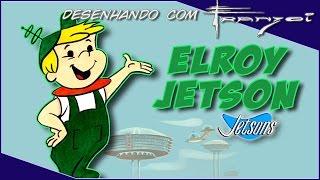 ✍ Desenhando e pintando o Elroy Jetson (Os Jetsons) - Speed Art - #49