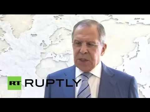 Пресс-подход Сергея Лаврова по итогам встречи ОДКБ в Ереване