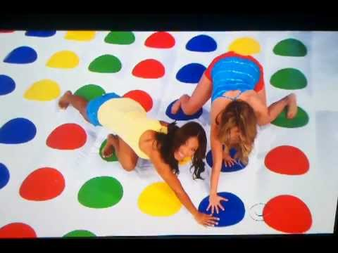 TPIR: 12/15/2011 RACHEL, MANUELA, AMBER PLAYING ON A GIANT TWISTER BOARD
