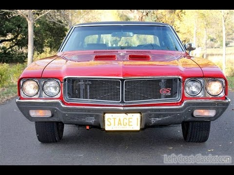 very rare 1970 buick gs 455 stage 1 for sale - youtube