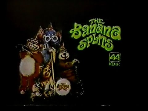 KBHK Channel 44 [San Francisco] - Ending of Popeye and Opening of The Banana Splits (1978)