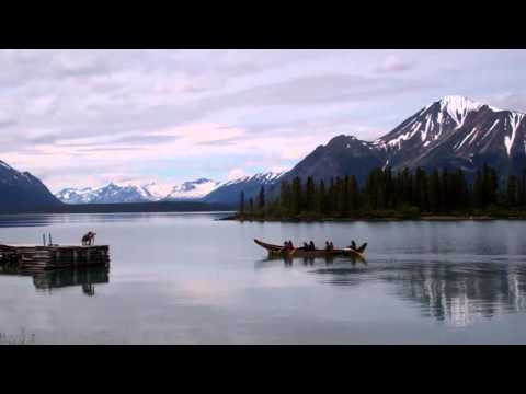 Tlingit Canoe at Lake Atlin, BC