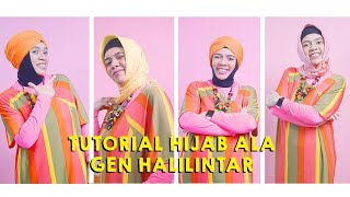 Tutorial Hijab ala Gen Halilintar