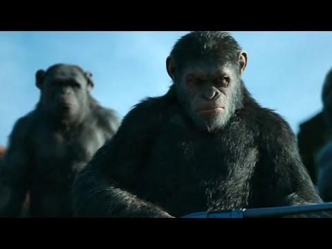 Трейлер х/ф Война планеты обезьян в переводе Гоблина