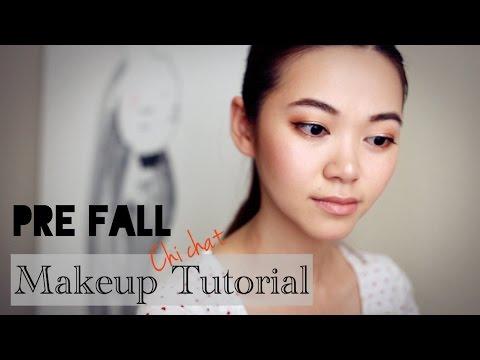 Fre-Fall Makeup Tutorial 初秋妆容教程