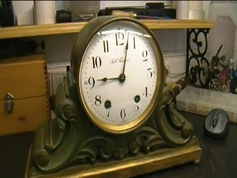Seth Thomas 48 R Mantel Clock Movement Repair Preview