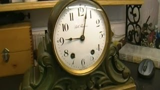 Seth Thomas 48 R Mantel Clock Movement Repair Preview