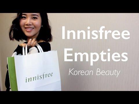 Innisfree Empties Review
